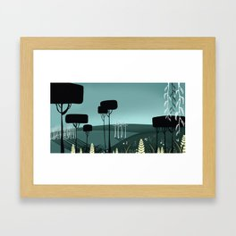 Hills  Framed Art Print