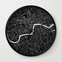 London - Minimalist City Map Wall Clock