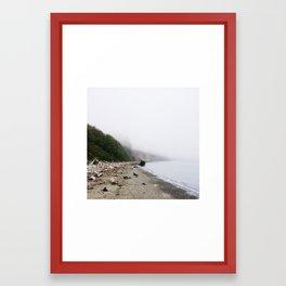 Forgotten Coast Framed Art Print