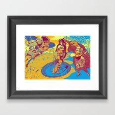 Birth Of Venus Reimagined (historic trip edition) Framed Art Print