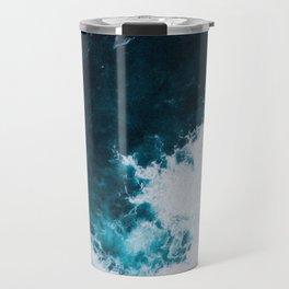 Wild ocean waves II Travel Mug