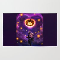 pixar Area & Throw Rugs featuring EllieWeen by Emiliano Morciano (Ateyo)