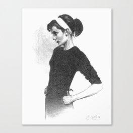 Audrey Canvas Print