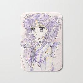 Sailor Saturn Hotaru with Soul Crystal Bath Mat