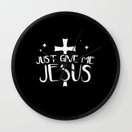 Jesus Faith Good Christian Gift Wall Clock