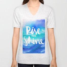 Rise & Shine [Collaboration with Jacqueline Maldonado] Unisex V-Neck