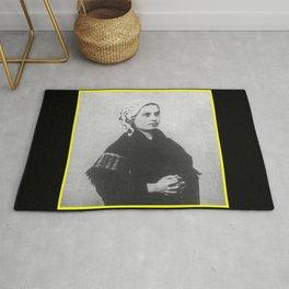 Billard Perrin - Portrait of Bernadette Soubirous Rug