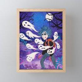 Bosque de Ojos Framed Mini Art Print