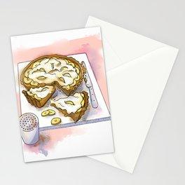 Banoffee Pie Stationery Cards