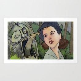 Pan's Labyrinth - Bug Art Print