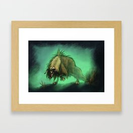 hyena Framed Art Print