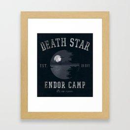 Camp Endor Framed Art Print