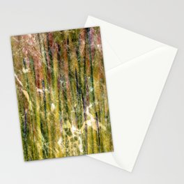 Marbled Metallic Grass Stationery Cards