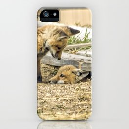 Come Out And Play iPhone Case