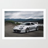 Toyota Supra TRD Art Print