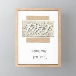 Long May You Run Framed Mini Art Print
