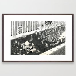 Status Quo Framed Art Print