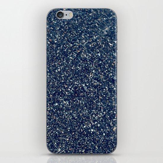Black Sand II (Blue) iPhone & iPod Skin