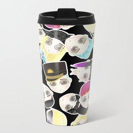 BIGBANG Collage (Black) Metal Travel Mug