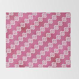 Pretty In Pink Throw Blanket