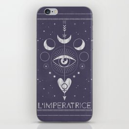 L'Imperatrice or L'Empress Tarot iPhone Skin