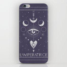 L'Imperatrice or L'Empress Tarot iPhone Skin