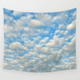 POPCORN CLOUDS Wall Tapestry