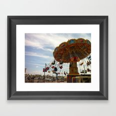 swing me away Framed Art Print