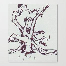 Tree of Jealousy Canvas Print