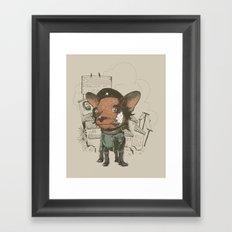 Che huahua Framed Art Print