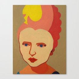 Queen of Spades Canvas Print