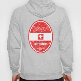 World Cup Football - Switzerland (Distressed) Hoody