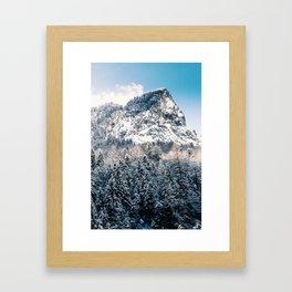 Mount Watzmann Framed Art Print