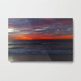 Warm Horizon Metal Print