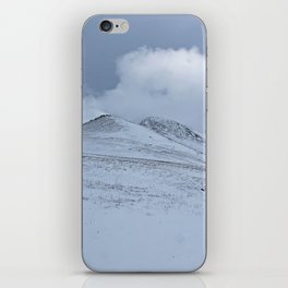 Snowy Welsh Mountains iPhone Skin