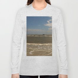 St Simons Island Beach Long Sleeve T-shirt