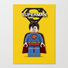 LegoSuperman Canvas Print