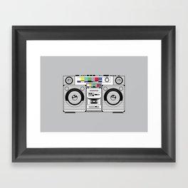 1 kHz #2 Framed Art Print
