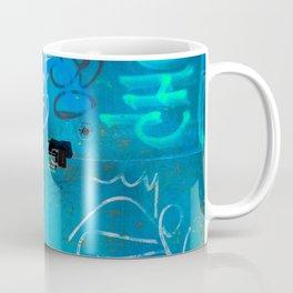 Urban Blue Style Street Graffiti Coffee Mug