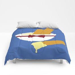 fish fingers and custard Comforters