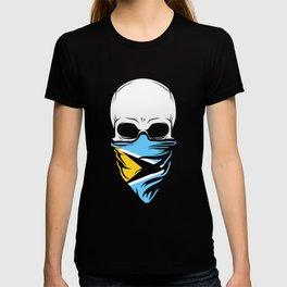 Saint Lucia Skull Shirt - Saint Lucia T-shirt