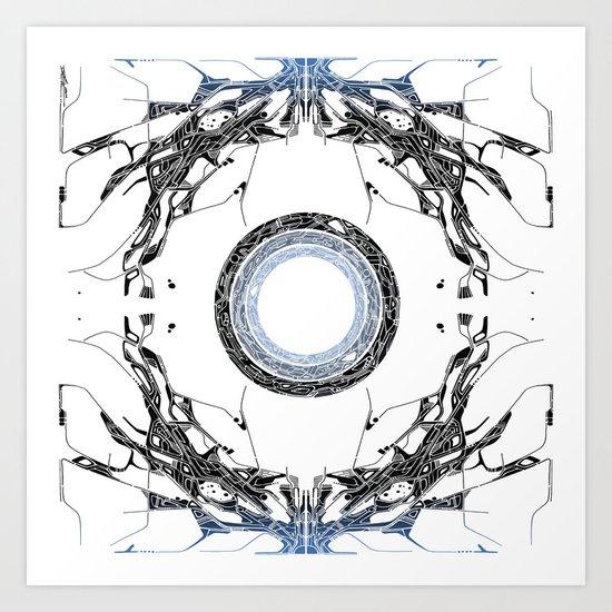 Ice Portal Art Print