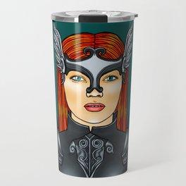 Brynhildr the Valkyrie Travel Mug