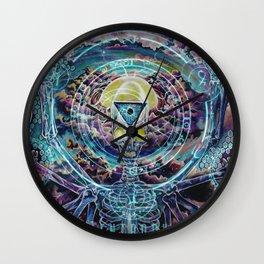 Promethean....Conversations with a god Wall Clock
