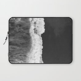 The Sea (Black and White) Laptop Sleeve