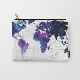 ALLOVER THE WORLD-Galaxy map Carry-All Pouch