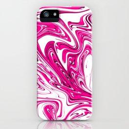 Liquified graphic design iPhone Case