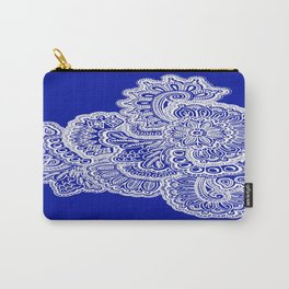 Half Navy Carry-All Pouch