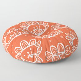 Pollen (in Orange) Floor Pillow