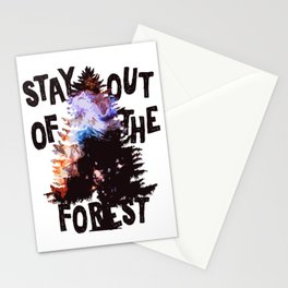 Murderino - Stay Out Of The Forest! Stationery Cards